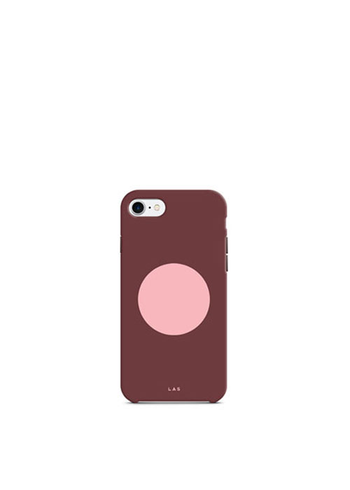 Bauhaus Circle Hard Case [Rouge Pink]